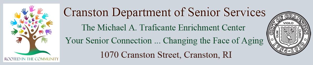 Cranston Senior Center Official Website Logo