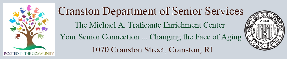 Cranston Senior Center Official Website Logo